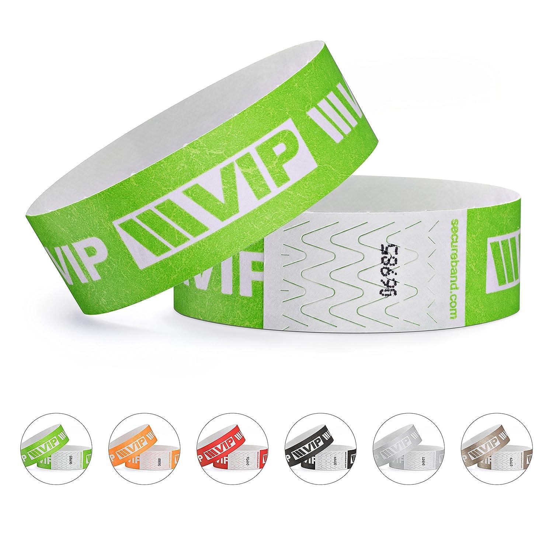 100er Pack Secureb/änder Tyvek/® 19 mm VIP New Design linie zwo/® Gold