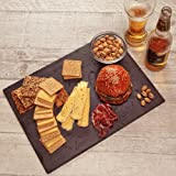 Kenley Slate Cheese Board and Knife Set - Large