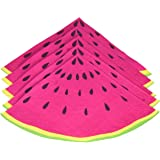 Ginger Ray Summer Fruits Watermelon Slice Party Paper Napkins, Pink