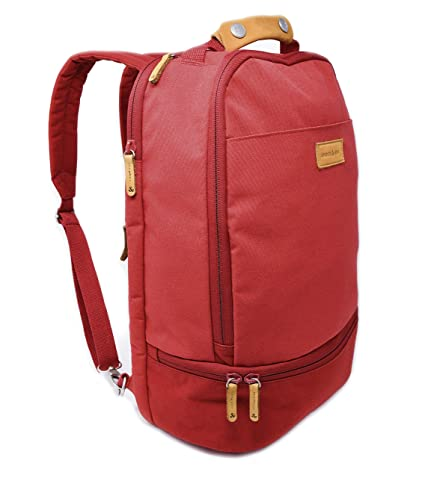 3c22725799b1 Amber & Ash Everyday Backpack - Laptop Bag for School, College, and Work -  Water Resistant Travel Backpack for Women and Men with Luggage Sleeve - ...