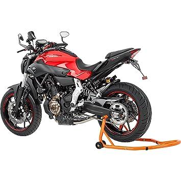 Hi-Q Tools Soporte trasero de motos para su levantamiento, ancho ajustable, trabajos