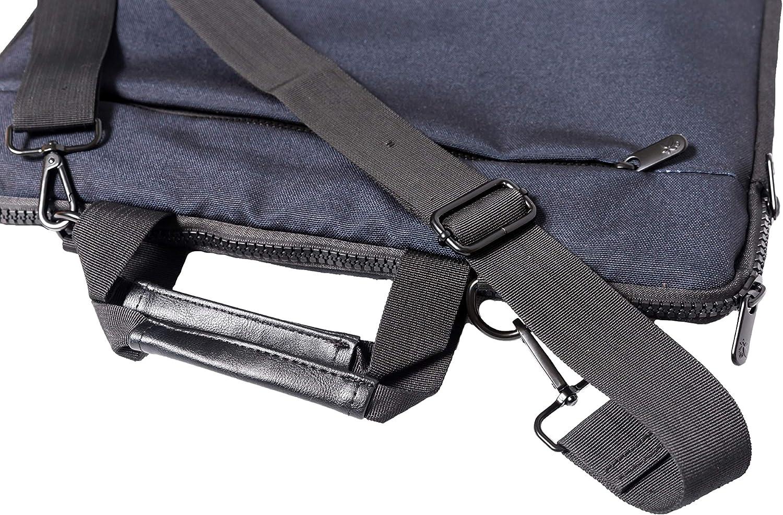 Luxburg/® 17 pouces Carry Bag Sac /à bandouli/ère de haute qualit/é pour notebook//ordinateur portable