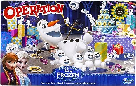 Operación Disney Frozen Operación Juego: Amazon.es: Juguetes y juegos