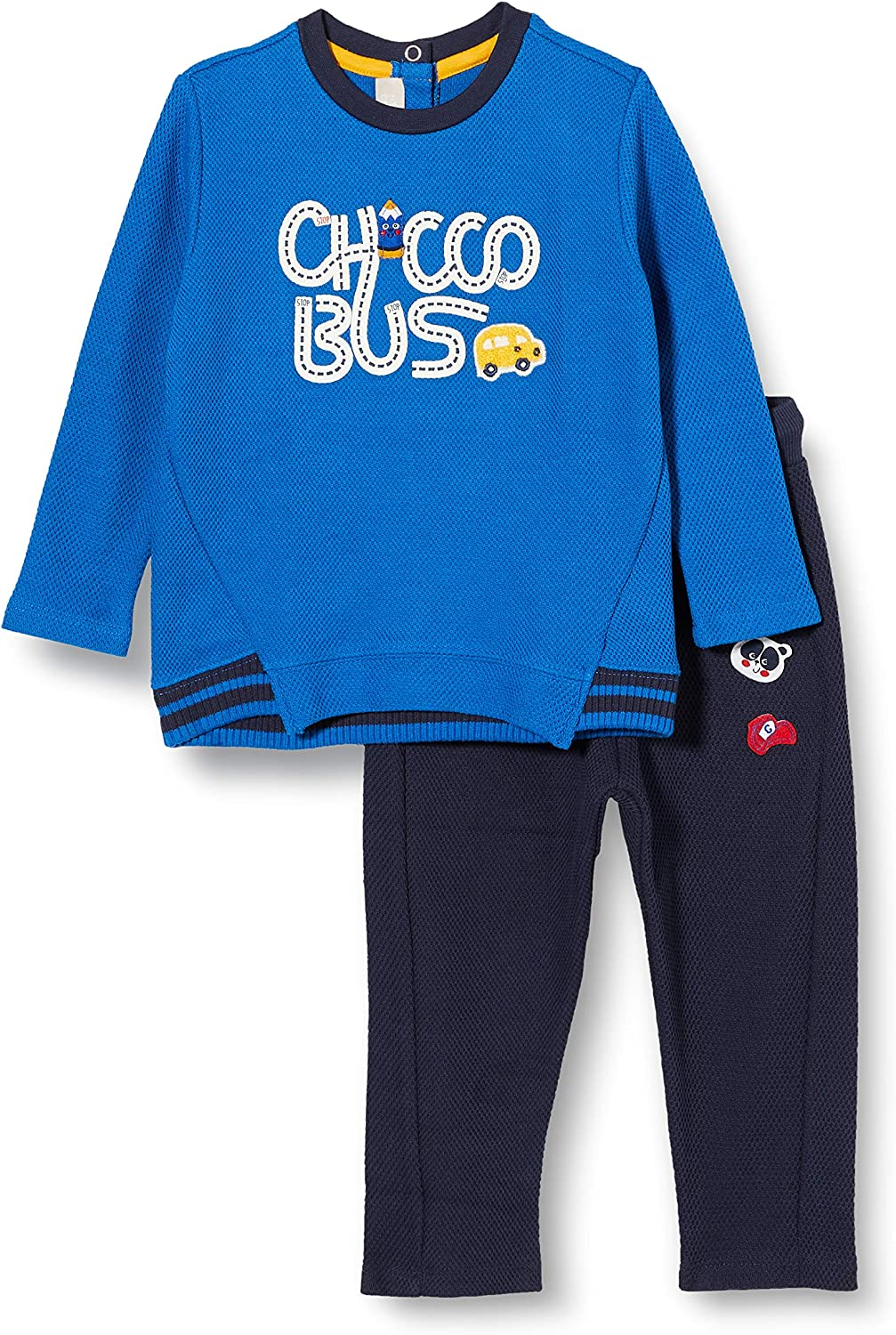 Pantaloni Lunghi Abendanzug-Set Chicco Baby-Jungen Completino Camicetta