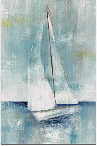 WEXFORD HOME Come Sailing II Gallery Wrapped Canvas Wall Art