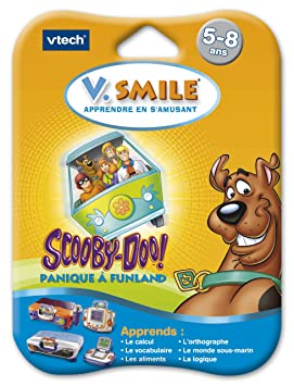 VTech - Cartouche de jeu V Smile (Motion) Scooby-Doo - 84045