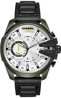 5e0461b5b9b7 Diesel Reloj Analogico para Hombre de Cuarzo con Correa en Cuero DZT1012