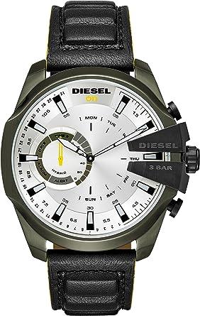 Diesel Reloj Analogico para Hombre de Cuarzo con Correa en ...