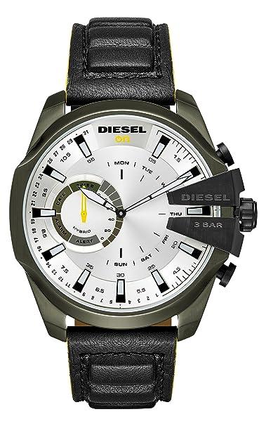 Diesel Homme Analogique Quartz Montre avec Bracelet en Cuir DZT1012: Amazon.fr: Montres