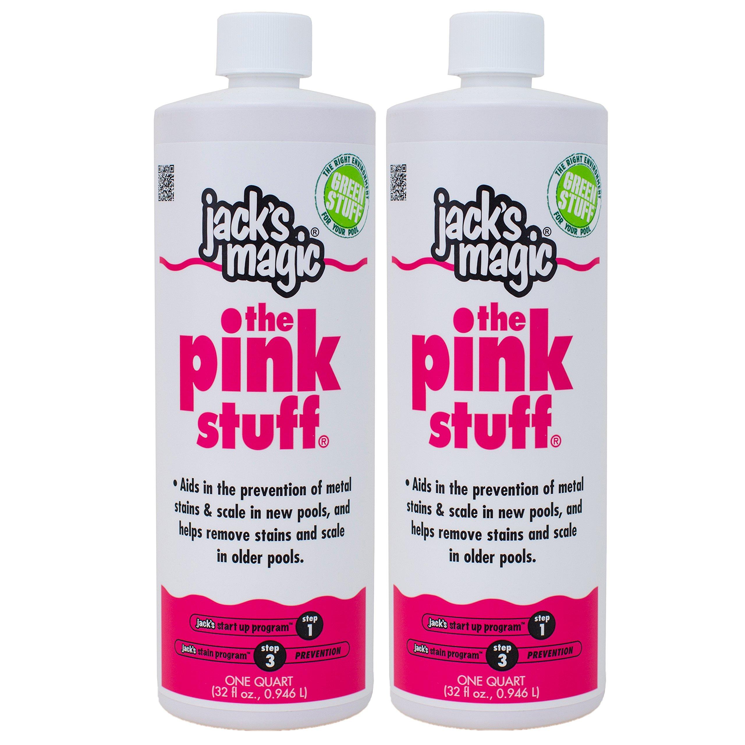 Jack's Magic The Pink Stuff (1 qt) (2 Pack) by Jack's Magic
