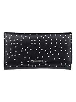 Roxy My Long Eyes Cartera de Pliegue Triple, Mujer, Gris/Negro (True Black Dots for Days), Talla Única: Roxy: Amazon.es: Deportes y aire libre