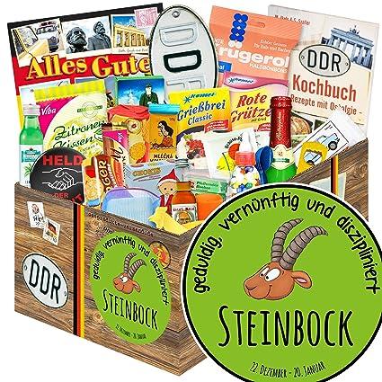 Sternzeichen Steinbock 24er Allerlei Steinbock Geschenk