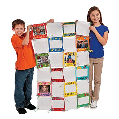Do It Yourself Look It's Me! Photo Classroom Quilt - Crafts for Kids and Fun Home Activities: Toys & Games
