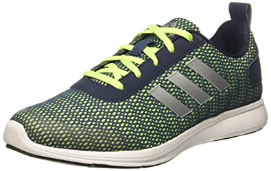 cdf828a36ceeab Adidas Men s Adispree 2.0 M Minblu Syello Conavy Silv Running Shoes - 10