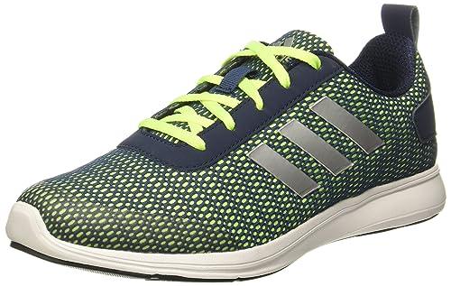 1e64d3a8f67d86 Adidas Men s Adispree 2.0 M Minblu Syello Conavy Silv Running Shoes - 10