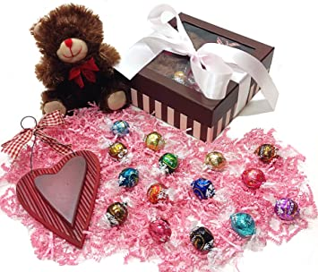 Amazon Com Easter Or Mothers Day Gift Box Lindt Lindor Truffles