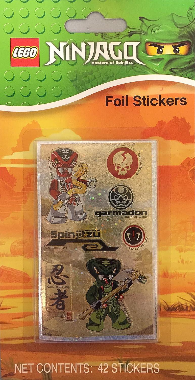 Lego NinjaGo Stickers Toysmith 31298