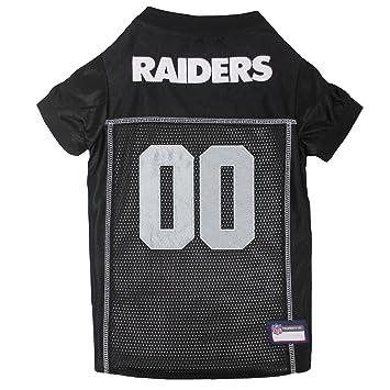 719f6f5f8 Amazon.com   Pets First NFL Oakland Raiders Premium Pet Jersey