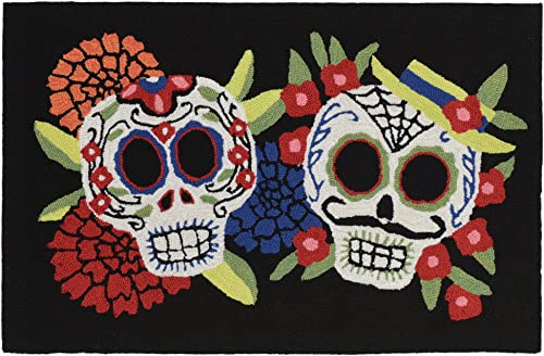 Liora Manne Frontporch Indoor Outdoor Rug, 2 x 3 , Mr. Mrs. Muerto