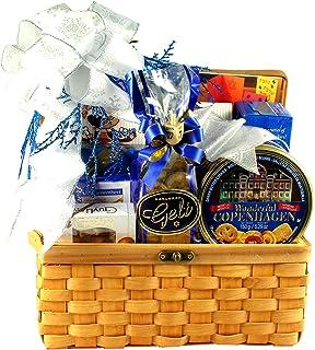 Amazon eight days of hanukkah gourmet food gift basket gift basket village hanukkah treasures kosher gift basket negle Images