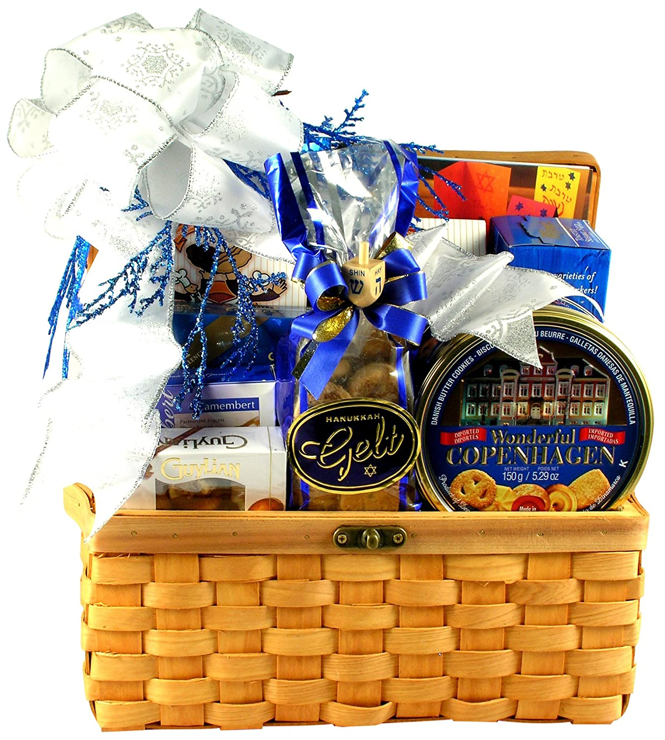 Gift Basket Village Hanukkah Treasures Kosher Gift Basket
