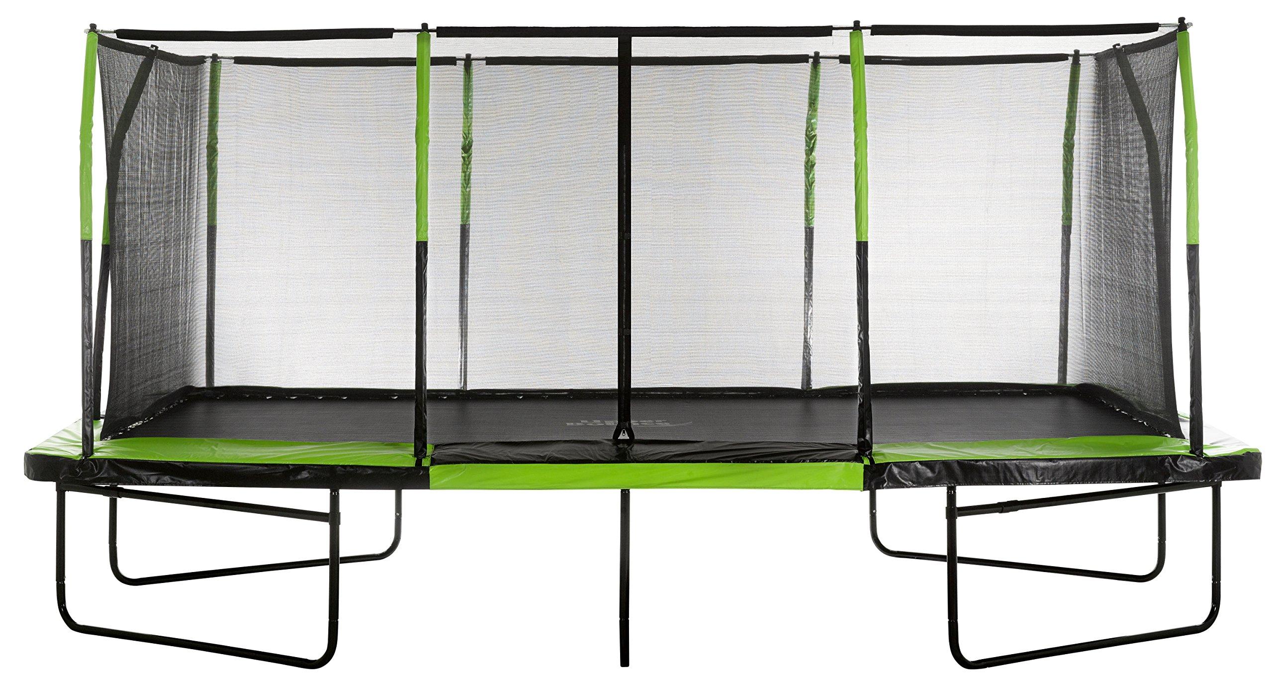 Upper Bounce UBRTG01-1017 - Mega Trampoline 10' x 17' - Fiber Flex Enclosure System - Easy Assemble
