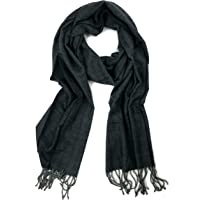 2922370a1 Plum Feathers Super Soft Luxurious Cashmere Feel Winter Scarf