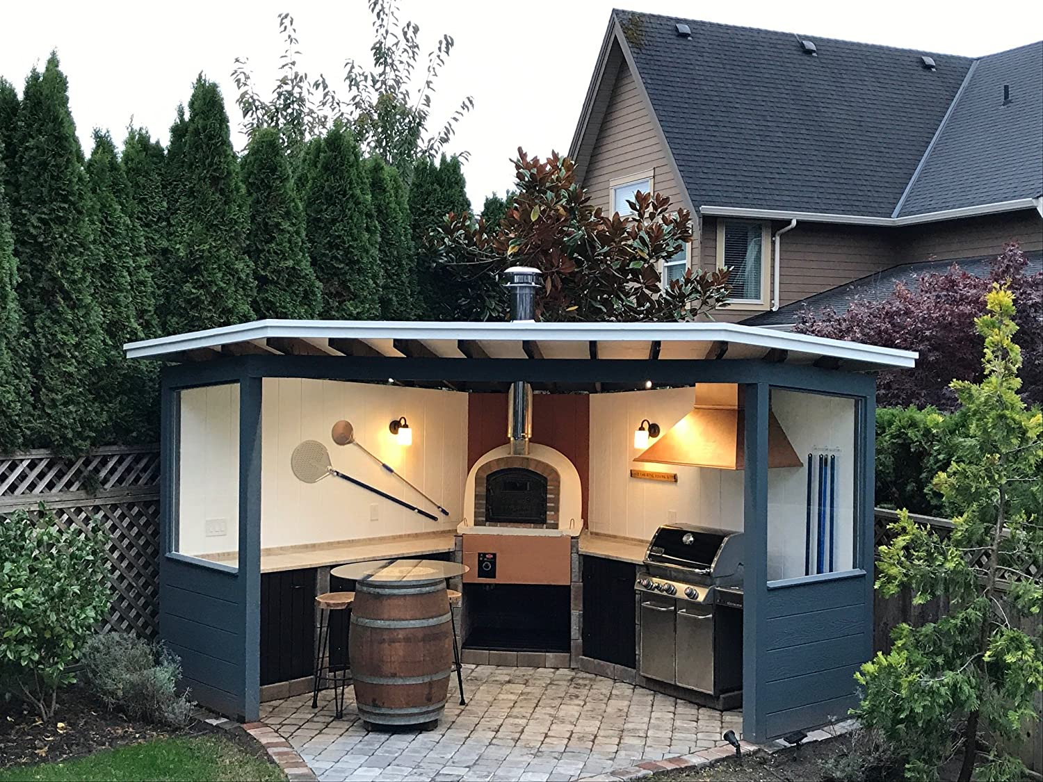 Brick Pizza Oven, Insulated, Wood Fired, Handmade in Portugal, Brick or Stone Face (Other)