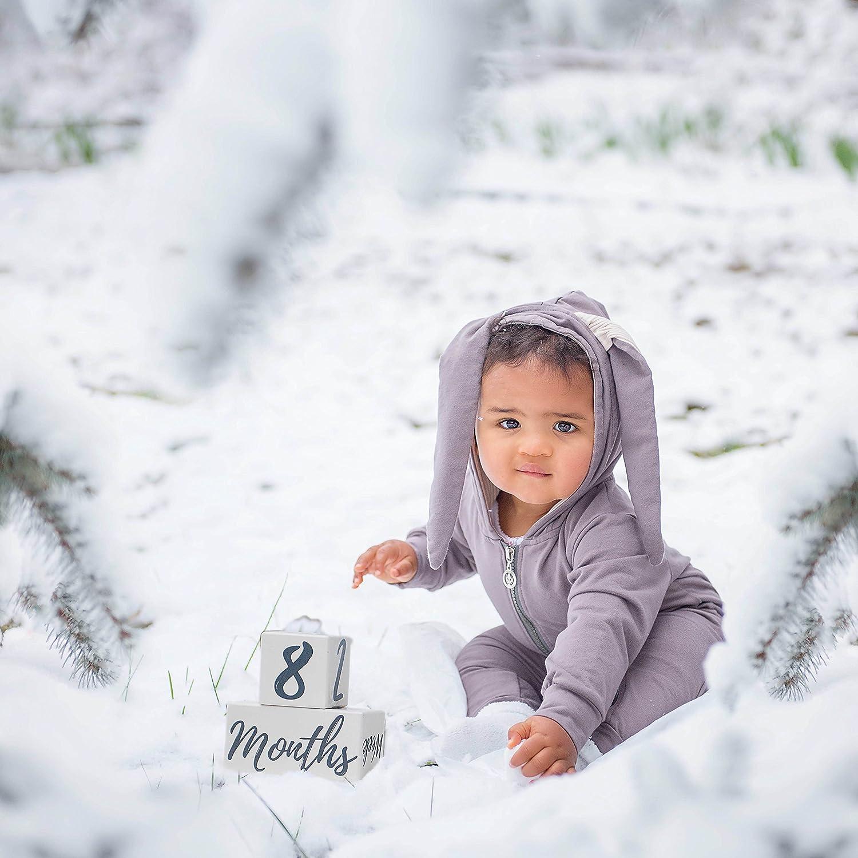 Amazon.com: Milestone bloques para bebé mensual edad fotos ...