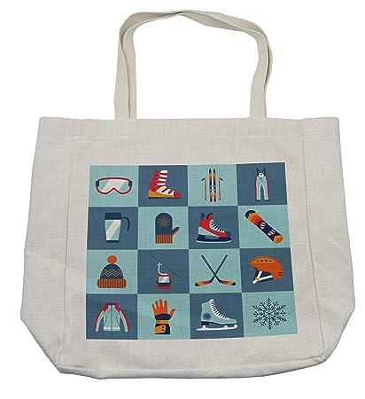 dc0f3ccd3c02 Amazon.com - Lunarable Sports Shopping Bag