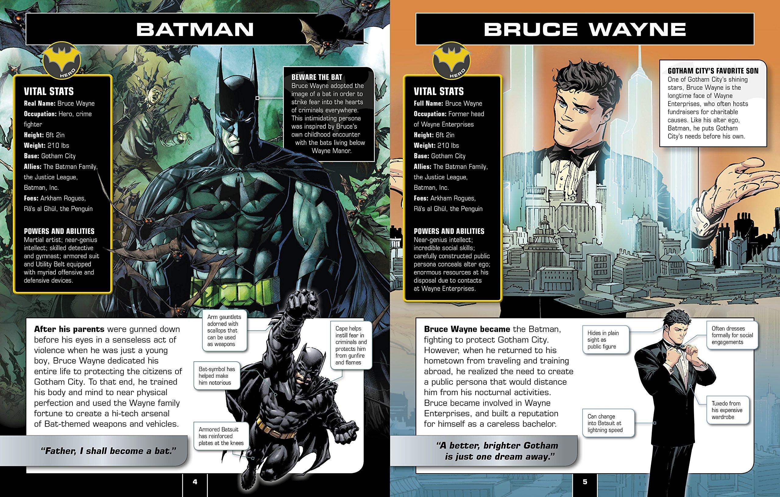 Batman Character Encyclopedia: Matthew K  Manning: 9781465444981