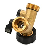 Deals on Camco Stainless Steel Solid Brass Water Wye Valve