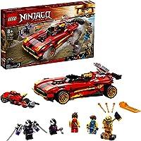 LEGO 71737 NINJAGO Legacy X-1 Ninja Charger Ninja Car Toy and Motorcycle with Cole Golden Figure