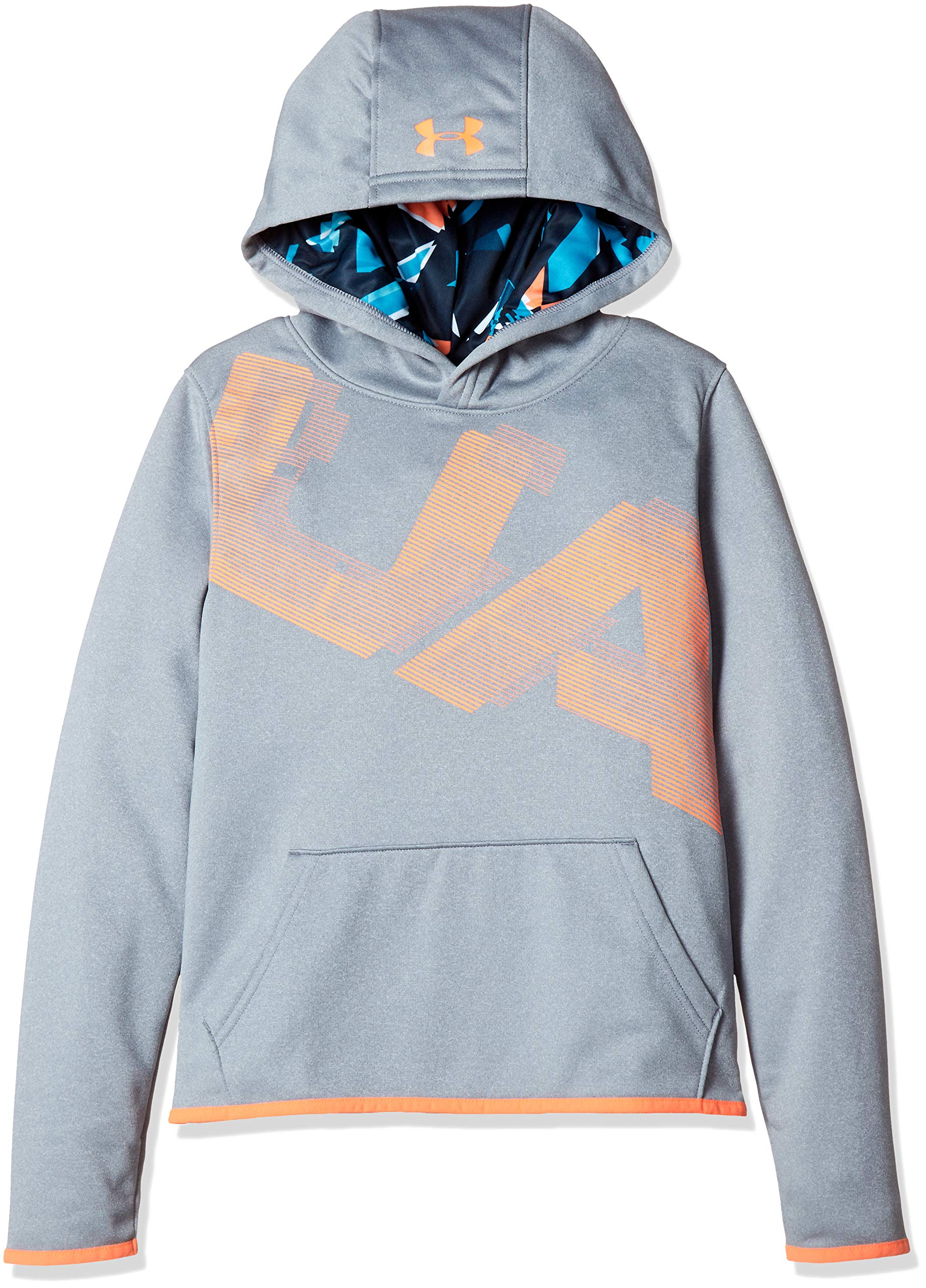 Under Armour Armour Fleece Printed Youth X-Large Steel Light Heather by Under Armour