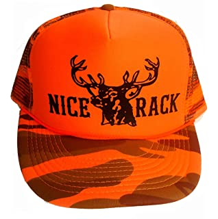 d6b8f098a52315 Amazon.com: ThatsRad Orange Blaze Camouflage Coon Hunters Do It All ...