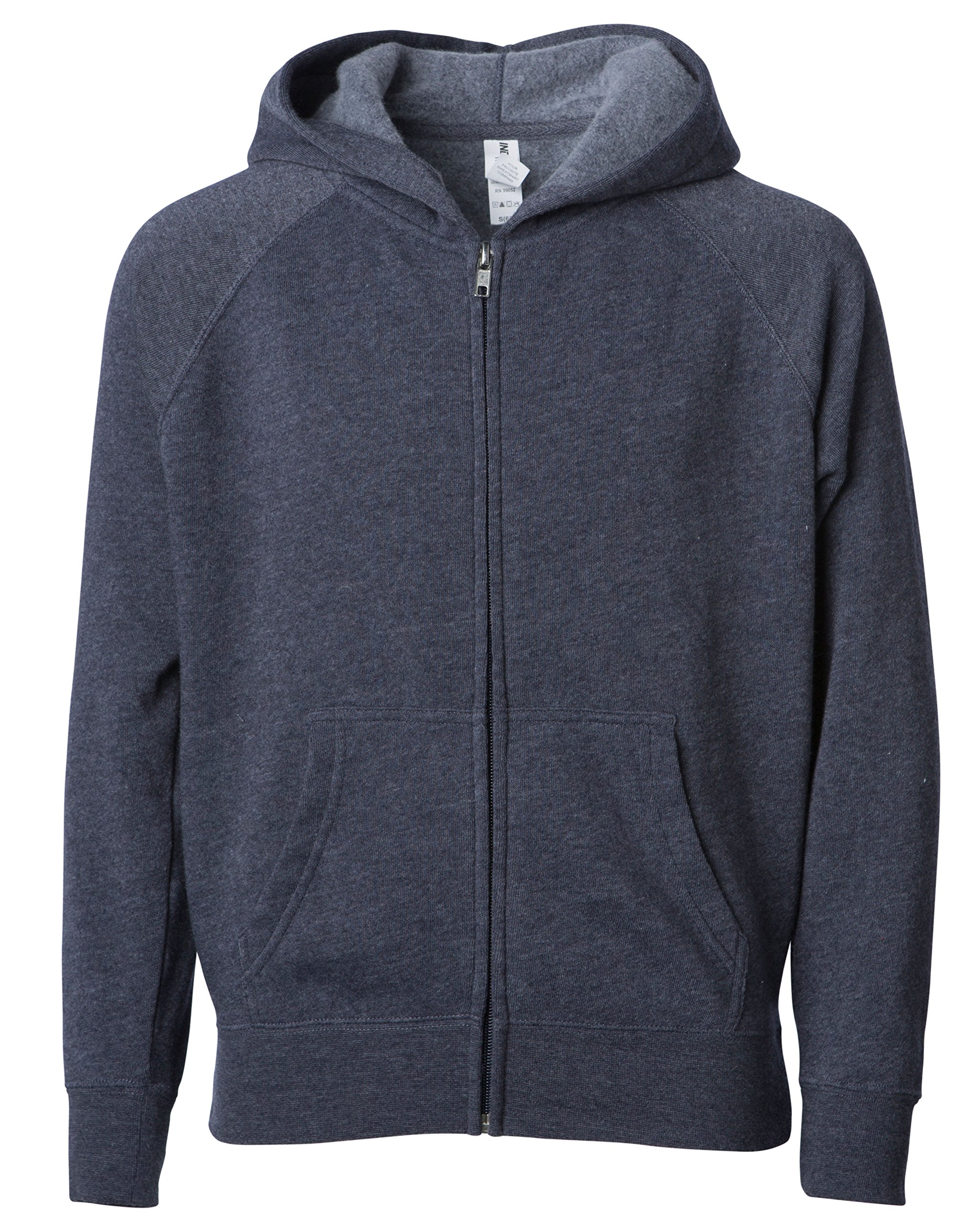 Little Kids Hoodie with Pocket for Toddler Boys an Girls Navy Blue 5/6T