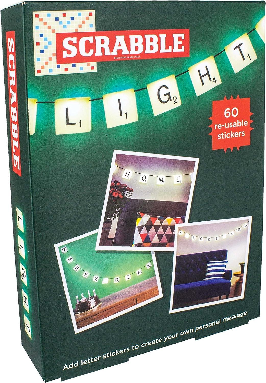 Paladone - Guirnalda de Lámparas letras Scrabble: Amazon.es: Iluminación