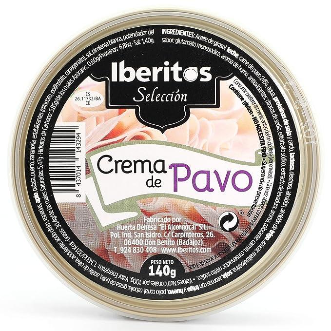 Iberitos - Crema de Pavo - 10 Latas x 140 gr: Amazon.es ...
