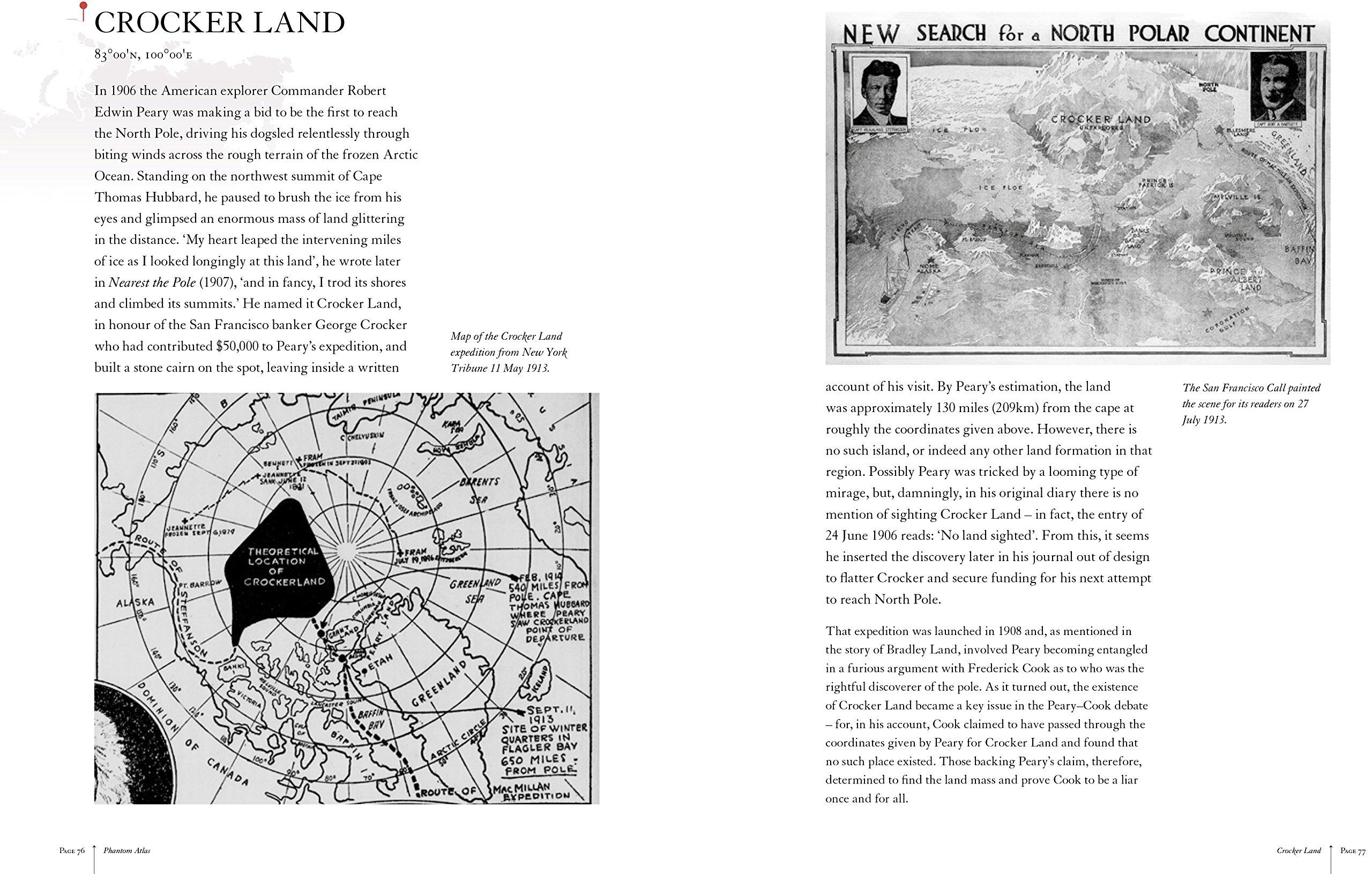 The Phantom Atlas: The Greatest Myths, Lies and Blunders on ...
