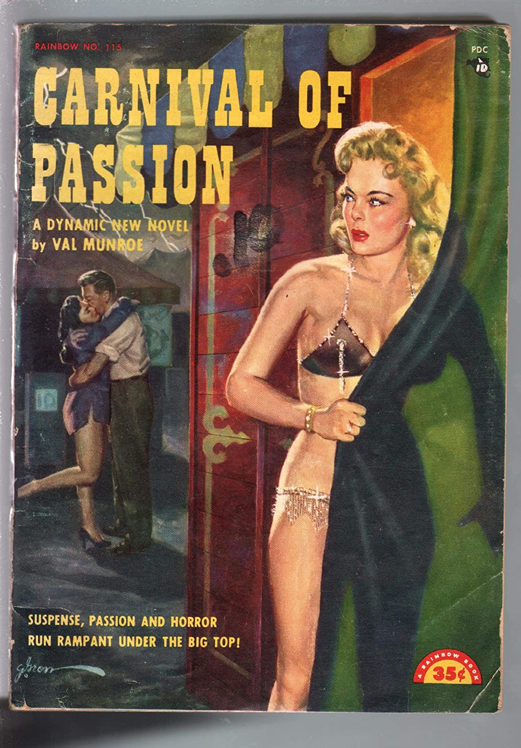 Carnival Of Passion #115 1940's-Val Munroe-George Gross spicy cover-G/VG at  Amazon's Entertainment Collectibles Store