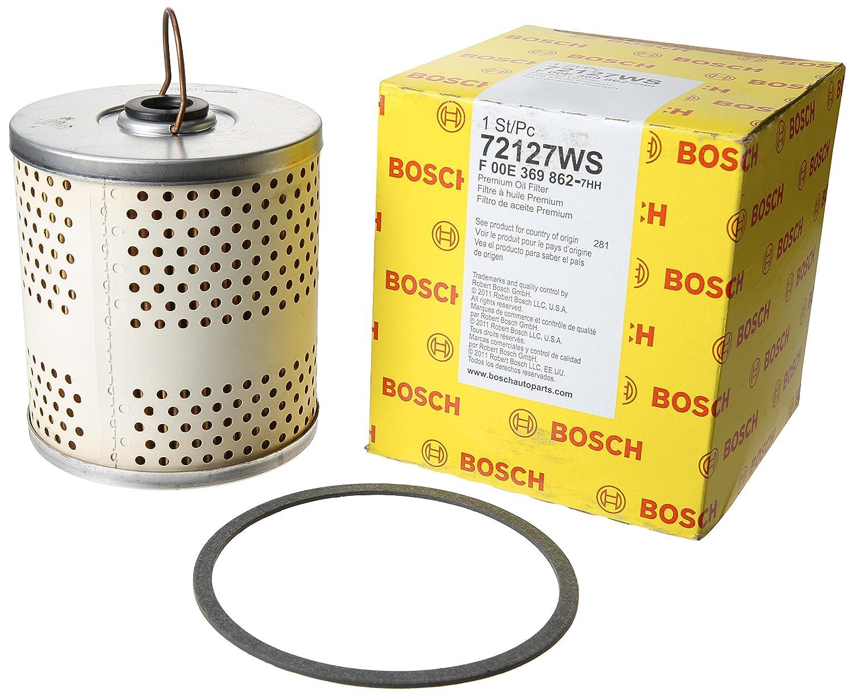 Bosch 72127 WS taller motor filtro de aceite: Amazon.es ...