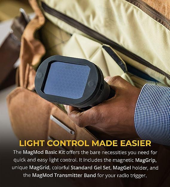 Magmod Basic Kit Magnet Lichtformer Für Aufsteckblitze Kamera