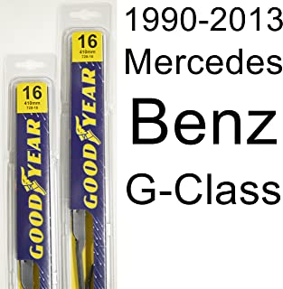 "product image for Mercedes Benz G-Class (1990-2013) Wiper Blade Kit - Set Includes 16"" (Driver Side), 16"" (Passenger Side) (2 Blades Total)"