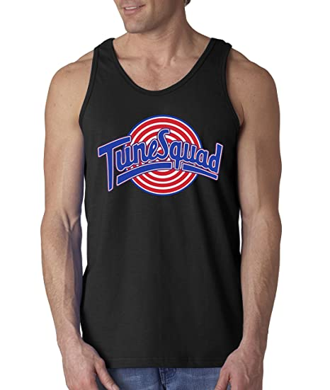 df888c9be0d819 Amazon.com  New Way 487 - Men s Tank-Top Tune Squad Space Jam Basketball  Team  Clothing