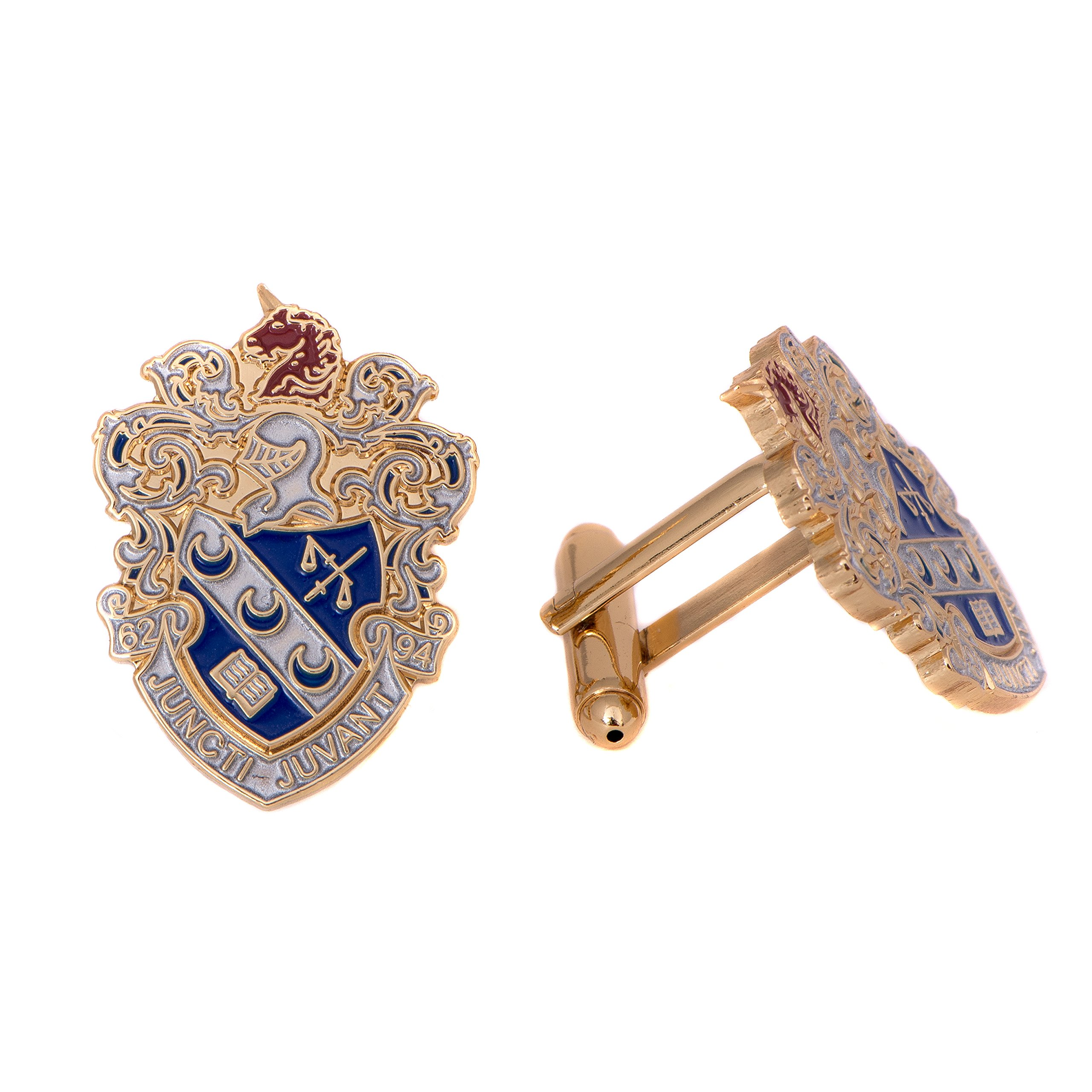 Desert Cactus Theta Xi Fraternity Crest Cufflinks Greek Formal Wear Blazer Jacket