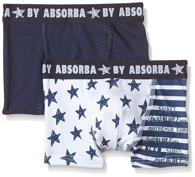 low priced fa2d5 9e508 Absorba Underwear - Flag, Boxer Bambino (pachetto da 2), Blu ...