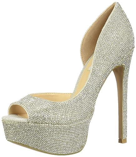 53d69115bad Steve Madden Women s Dazed Rhinestones 10 M US  Amazon.co.uk  Shoes ...