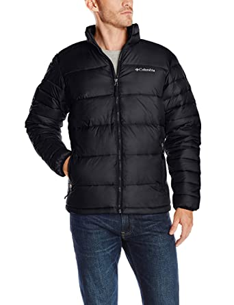 Columbia Mens Frost Fighter Puffer Jacket At Amazon Mens Clothing