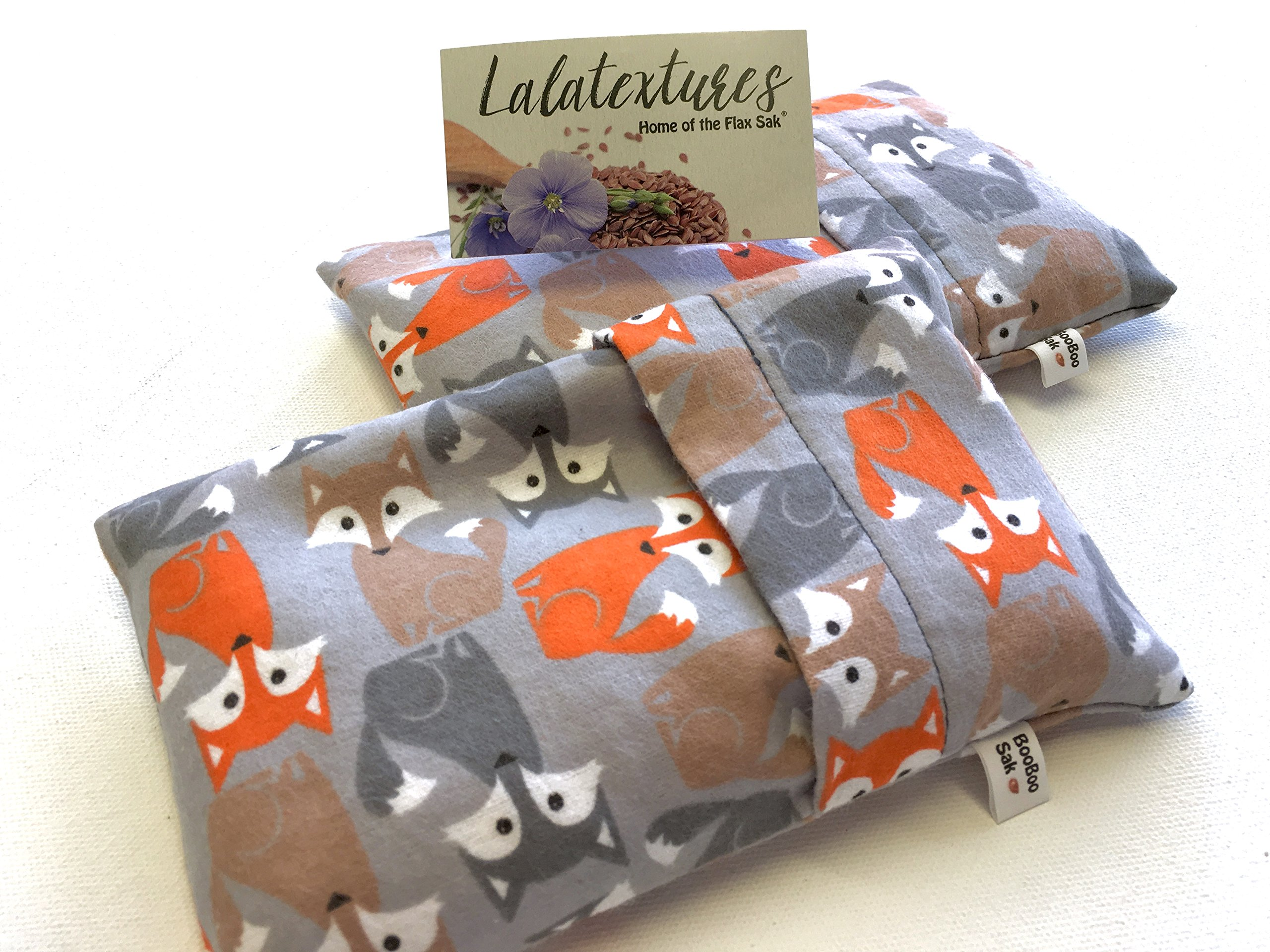 BooBoo Saks, Flax saks for children. Keep in the freezer and soothe their aowies!!! Great for bedtime soothers...