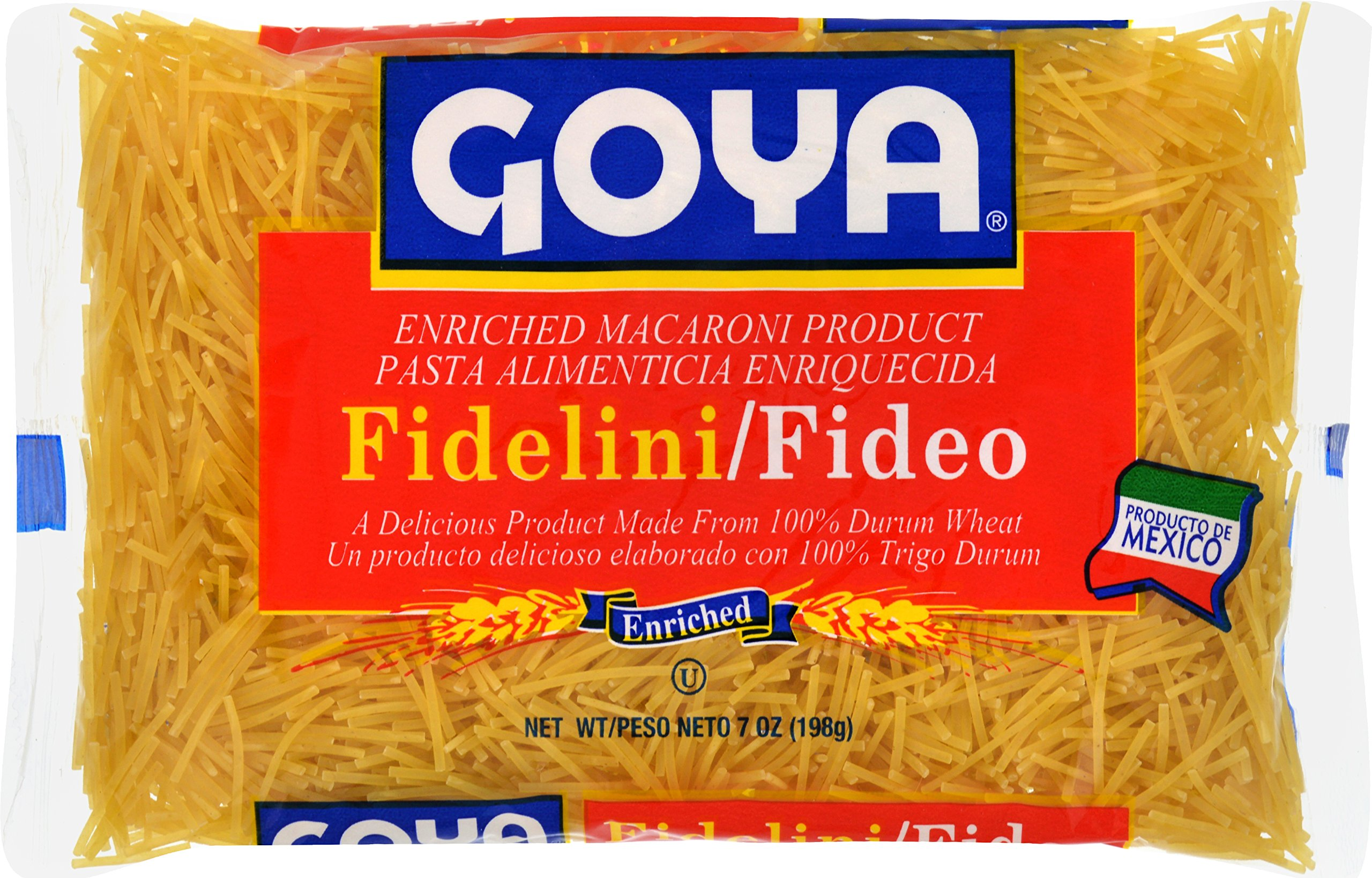 Goya Foods Fidelini Pasta, 7-Ounce (Pack of 20) by Goya
